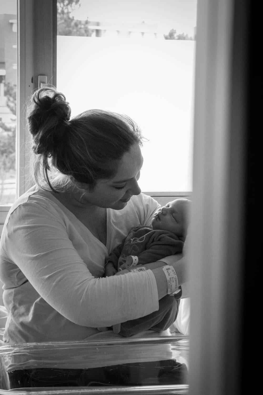Tout premier souvenir entre maman et bébé